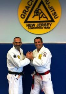 Master Royler Gracie and Prof. David Adiv