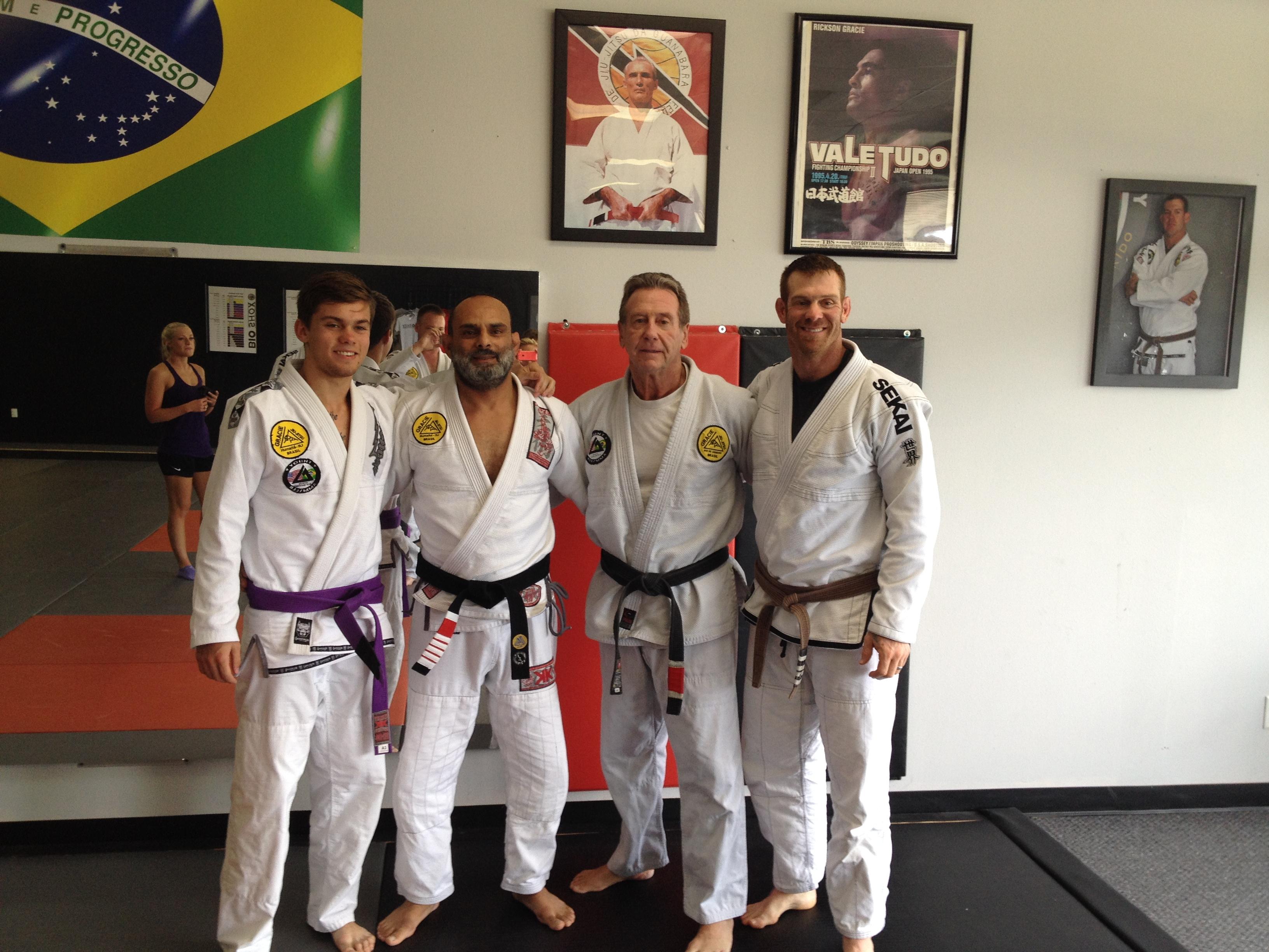 Matt, David, Steve and Andy