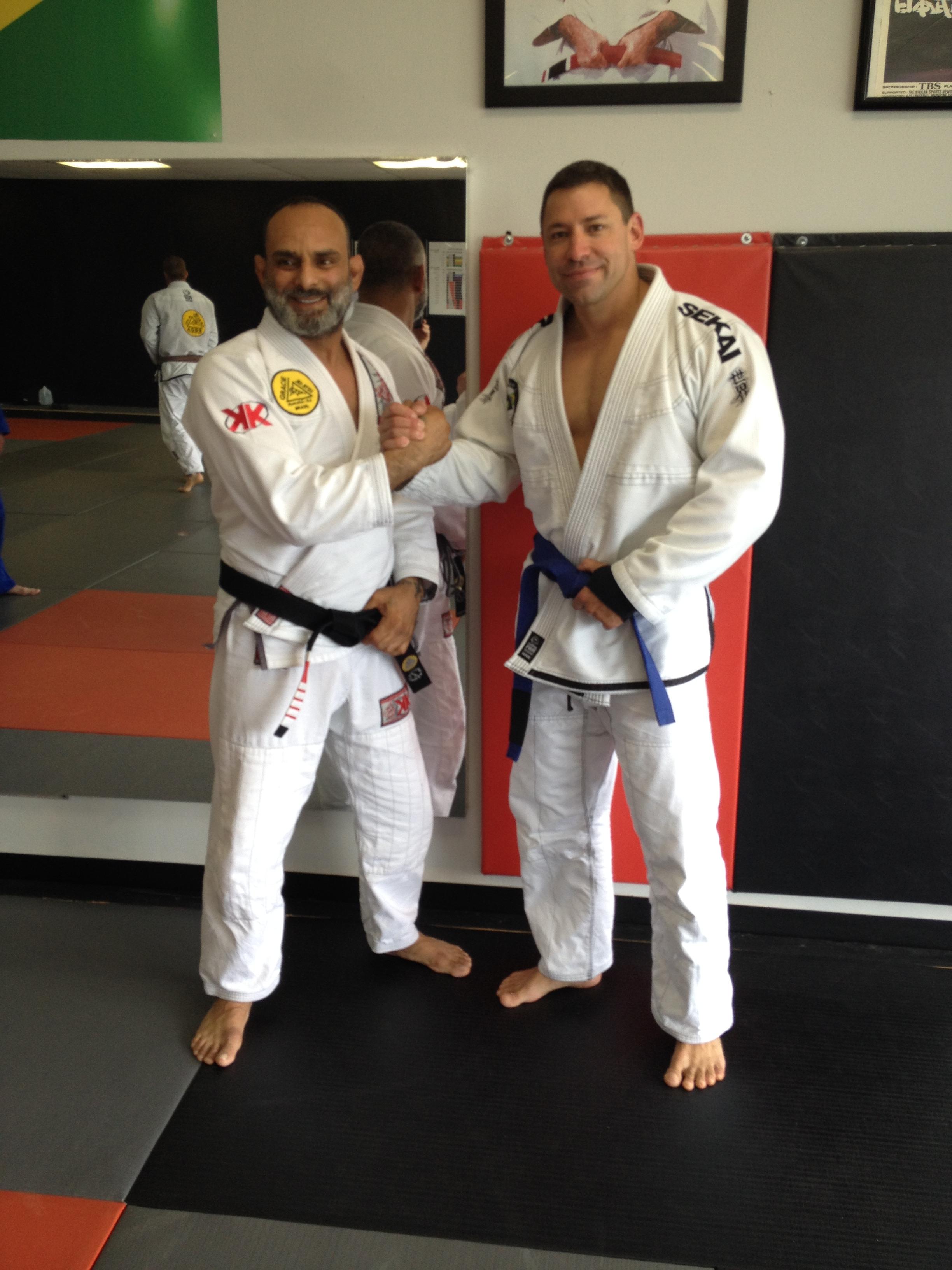 David Adiv and Manny Reyna