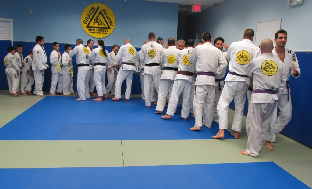 Gracie NJ Academy Team Training